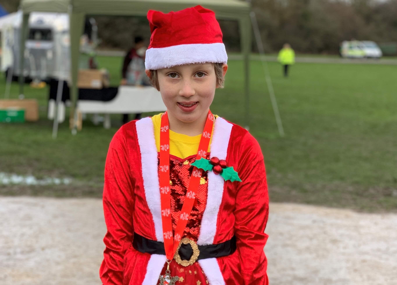 Lilly Santa Fun Run