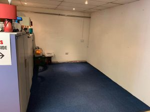 Headless Cross donation storage empty
