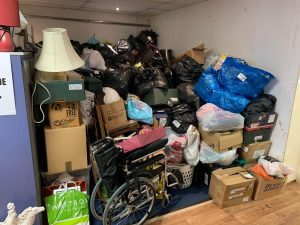 Headless Cross donation storage full