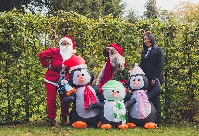 Primrose Hospice Santa Fun Run